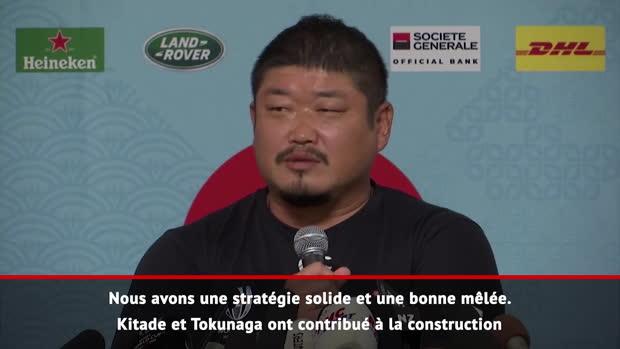 """Rugby : Quarts - Hasegawa - """"Une stratégie solide et une bonne mêlée"""""""