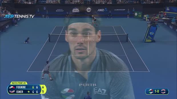 : ATP Cup - Pour l'honneur, Fognini s'impose contre Isner