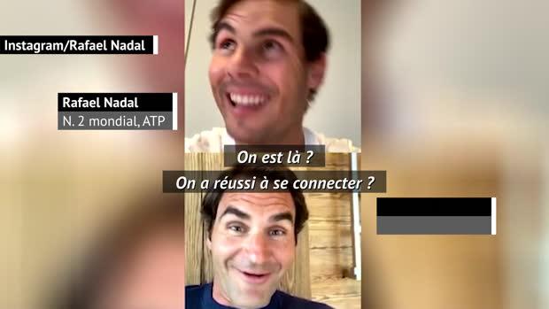 """Basket : ATP - Quand Federer chambre Nadal - """"Tu ne seras plus capable de jouer au tennis"""""""