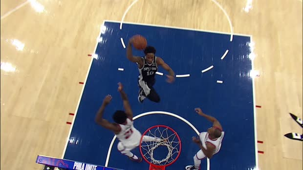 Dunk of the Night: DeMar DeRozan