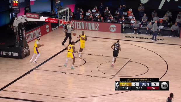 WSC: Jamal Murray with 32 points vs. the Lakers