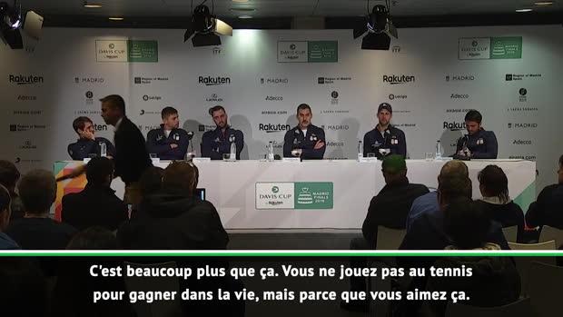 Tennis : Coupe Davis - Djokovic et ses copains en pleurs - l'immense émotion de la conférence de presse des Serbes