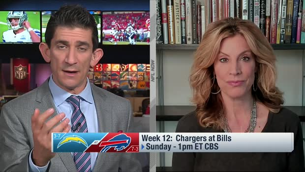 Kim Jones: Top storylines for Chargers-Bills in Week 12