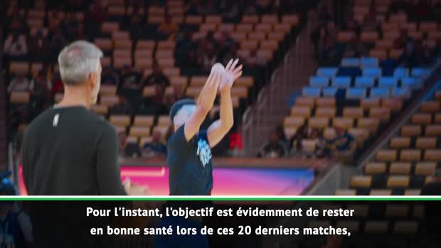 Basket : NBA - Stephen Curry, objectif JO