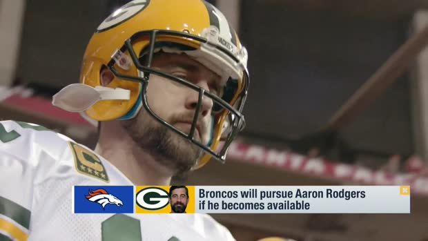 Palmer: Broncos have a 'realistic possibility' of landing Aaron Rodgers