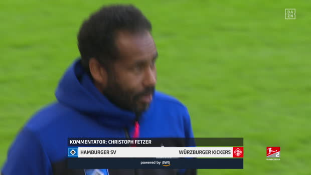 2. Bundesliga: Hamburger SV - FC Würzburger Kickers | DAZN Highlights