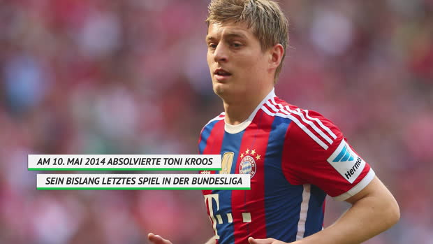 On This Day: Toni Kroos' bislang letztes BL-Spiel