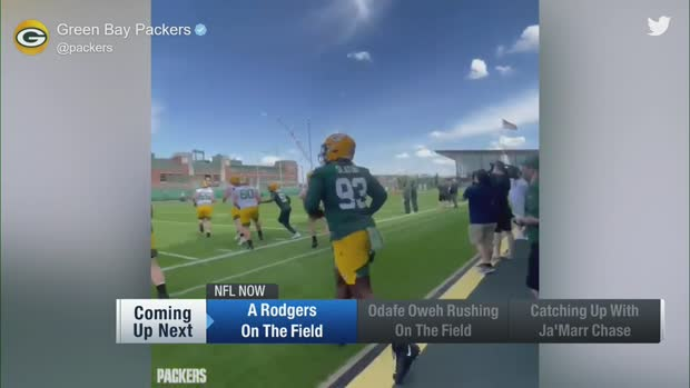 First look: Amari Rodgers gets to work at Packers rookie minicamp