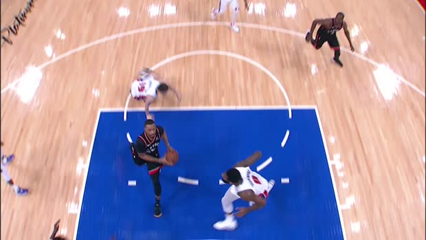Dunk of the Night: Norman Powell