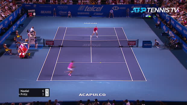 Basket : Acapulco - Nadal décroche son premier titre de l'année