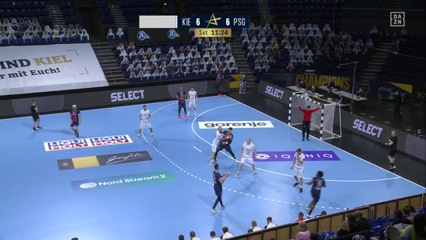 EHF Champions League: Kiel - PSG | DAZN Highlights