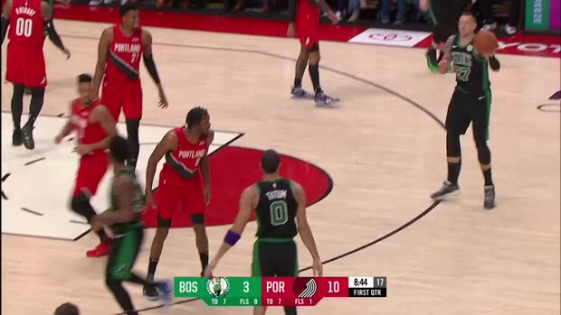 WSC: Daniel Theis 10 points vs the Blazers