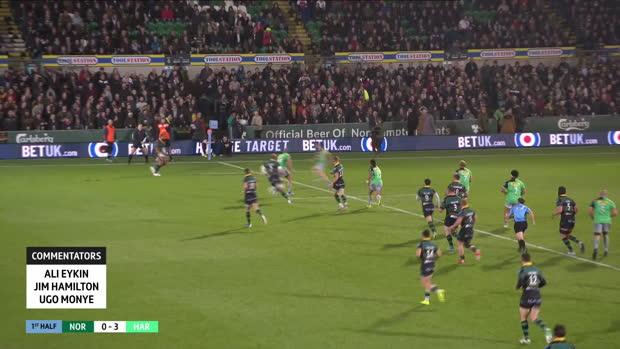 Aviva Premiership - Highlights - Northampton Saints v Harlequins - Round 3