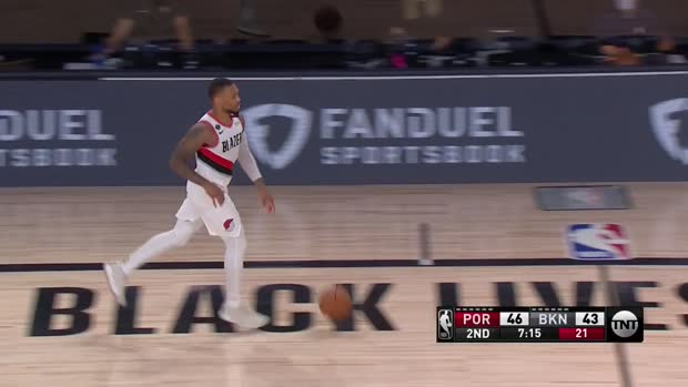 WSC: Damian Lillard with 42 Points vs. Brooklyn Nets