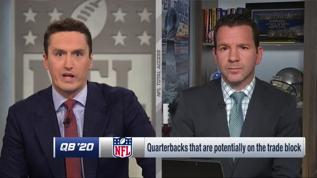 Ian Rapoport lists which players are potentially on the trade block