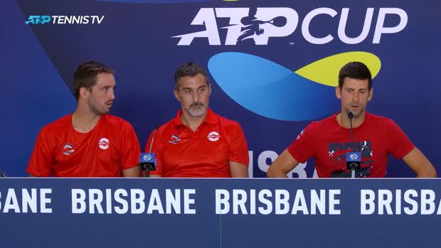 : ATP Cup - Djokovic - 'Certaines règles de cette nouvelle compétition sont vraiment discutables'