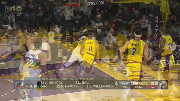 WSC: Brandon Ingram 34 points vs the Lakers