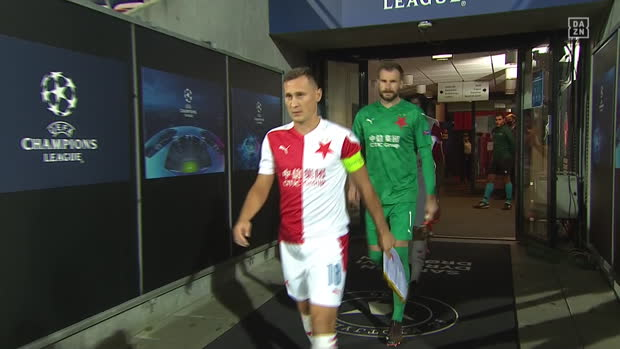 UEFA Champions League: Midtjylland - Slavia Prag | DAZN Highlights