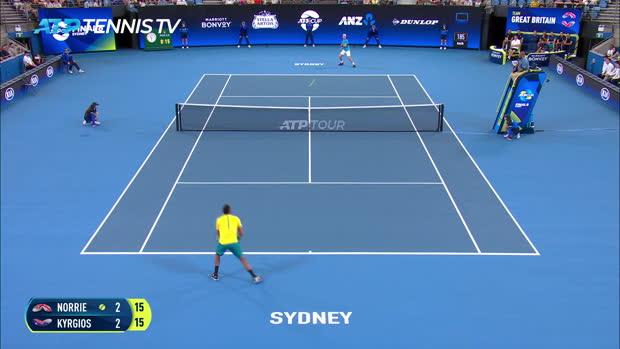 : TENNIS - ATP Cup - Kyrgios et l'Australie s'envole pour les demi-finales