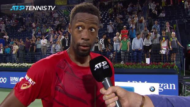 """Basket : TENNIS - ATP - Dubaï - Monfils - """"Je n'ai pas joué mon meilleur tennis"""""""