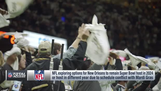 NFL Network Insider Ian Rapoport: NFL examining potential conflicts with 2024 Super Bowl in New Orleans
