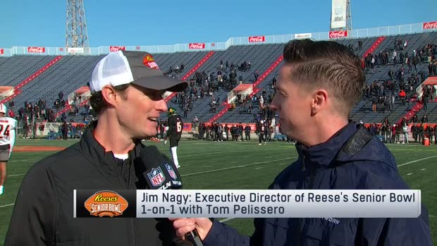 Jim Nagy highlights small-school sleepers at 2020 Reese's Senior Bowl