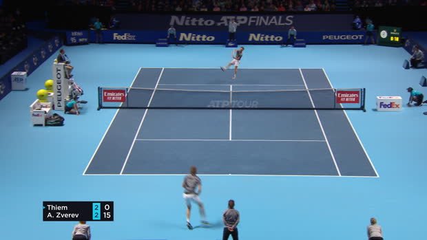 : Masters - Thiem élimine Zverev et s'offre une finale contre Tsitsipas