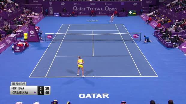 : Doha - Sabalenka remporte le 6e titre de sa carrière