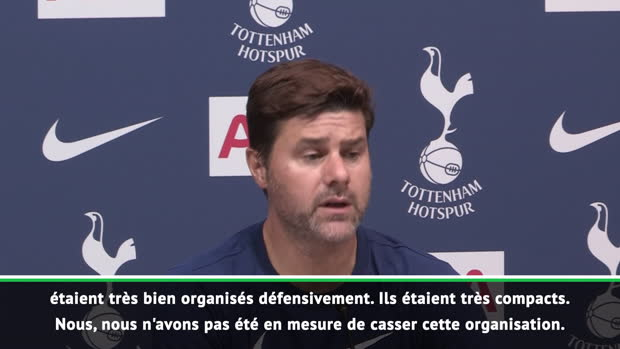 Tottenham - Pochettino - 'Très déçu de la performance et du résultat'