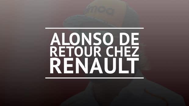Formule 1 - Alonso fait son retour chez Renault