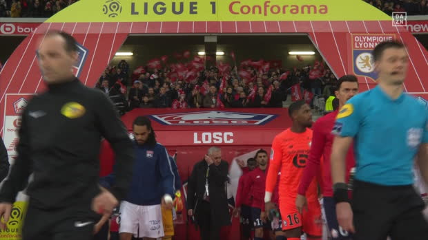 Ligue 1: Lille - Lyon | DAZN Highlights