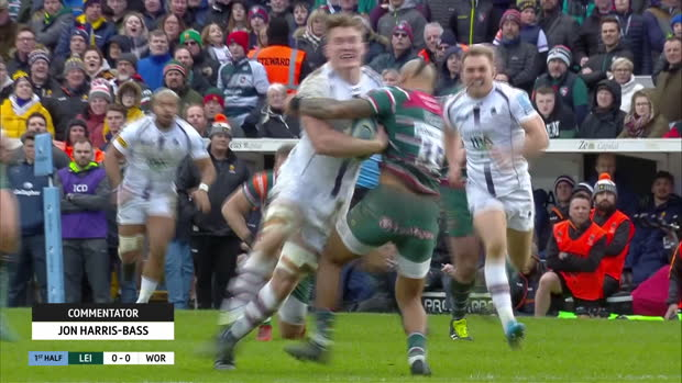 Aviva Premiership : Aviva Premiership - Round 12 Highlights - Leicester Tigers v Worcester Warriors