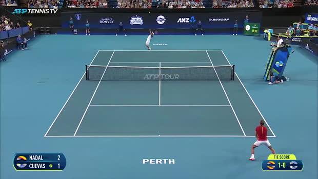 : ATP Cup - Nadal expéditif contre Cuevas