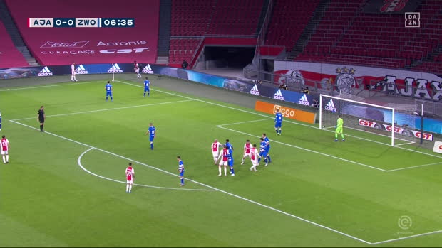 Eredivisie: Ajax - Zwolle | DAZN Highlights