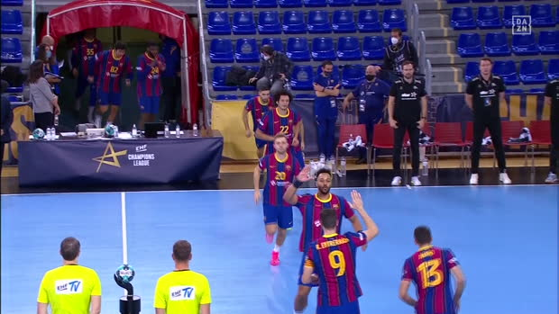 EHF Champions League: Barcelona - Kiel | DAZN Highlights