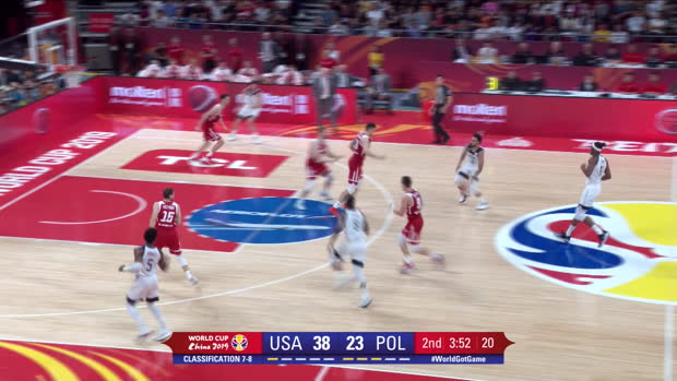Basket : Match de classement - Team USA termine septième