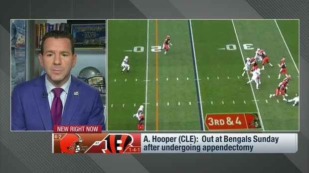 Rapoport: Austin Hooper will miss two weeks after an appendectomy