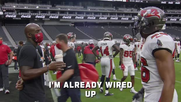 Mic'd Up: Best sideline moments from Bucs-Raiders | Week 7