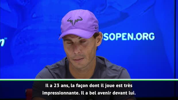 : US Open - Nadal - 'La carrière de Daniil est prometteuse'