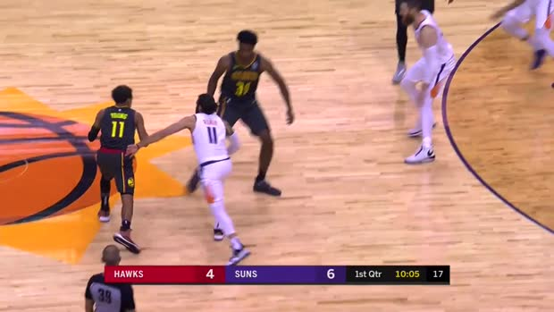 WSC: Trae Young with 13 Assists vs. Phoenix Suns