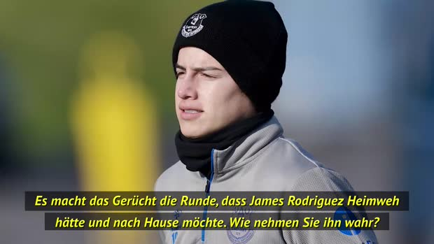 "Ancelotti: ""James geht es gut bei Everton"""