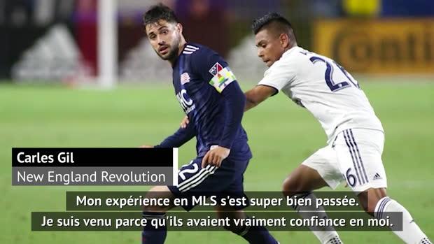 MLS - Gil (New England) - 'Un championnat meilleur que ce qu'on pense en Europe'