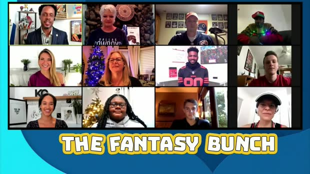 'The Fantasy Bunch': Fans break down their lineups for Week 12
