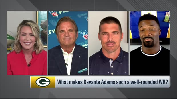 James Jones reacts to Aaron Rodgers saying Davante Adams is best WR he's ever played with