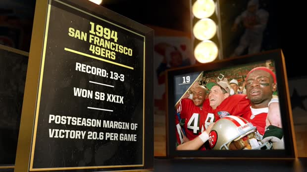 'NFL 100 Greatest' Teams, No. 19: 1994 San Francisco 49ers