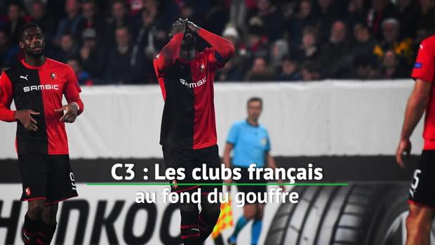 Bilan - Les clubs français au fond du gouffre