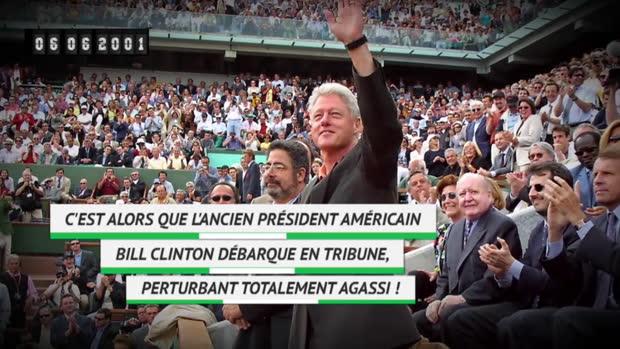 Basket : Il y a 19 ans - André Agassi victime de... Bill Clinton !