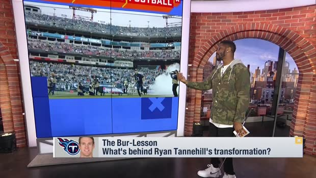 Nate Burleson breaks down what's behind Tennessee Titans QB Ryan Tannehill's transformation