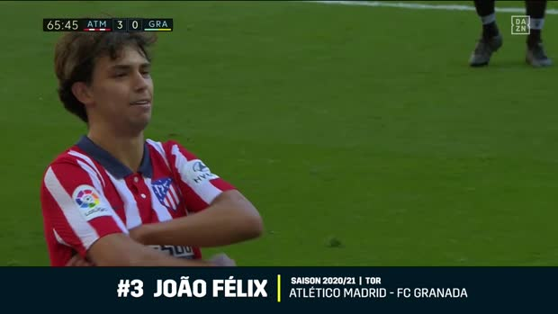 Best of Joao Felix: Top 10 Szenen bei Atletico Madrid | DAZN La Liga