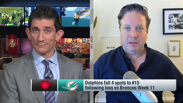 Hanzus: Dolphins drop four spots in Week 12 Power Rankings
